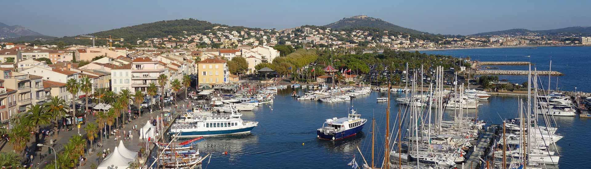 Le Parc Aqualand à Saint-Cyr-sur-Mer